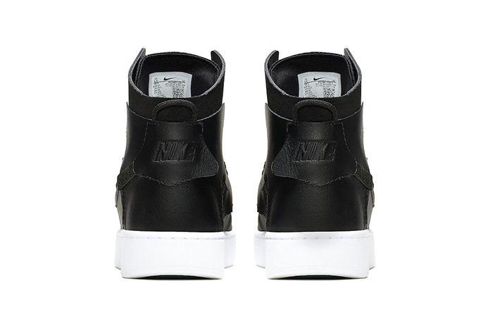 Nike Vandalized Lx Black Bq3611 001 Release Date Heel