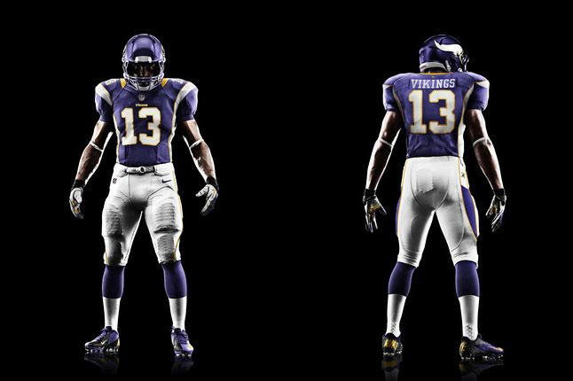 Minnesota Vikings Uniform 1