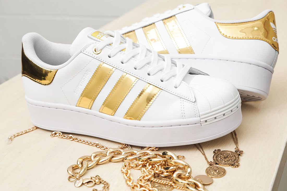 Adidas Metallic Gold Pack Superstar 50Th Anniversary Jd Sports Exclusive Hero8