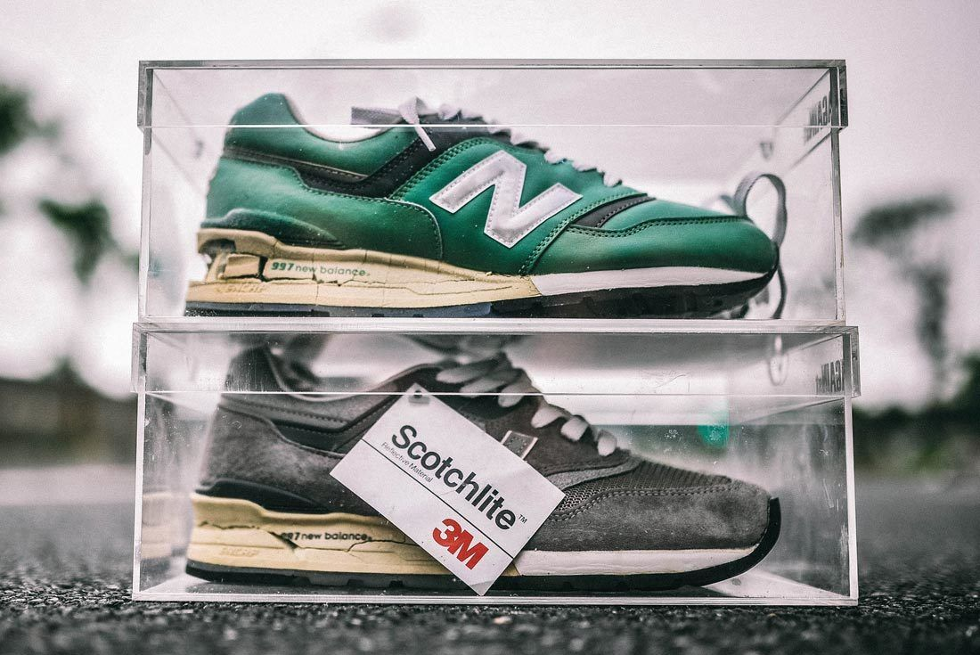 Caballo Repegar lanza  Cult Classic: The History of New Balance's Made In USA 997 - Sneaker Freaker