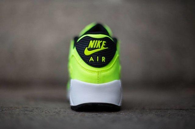 Nike Air Max 90 Fb Kids Volt Black 2