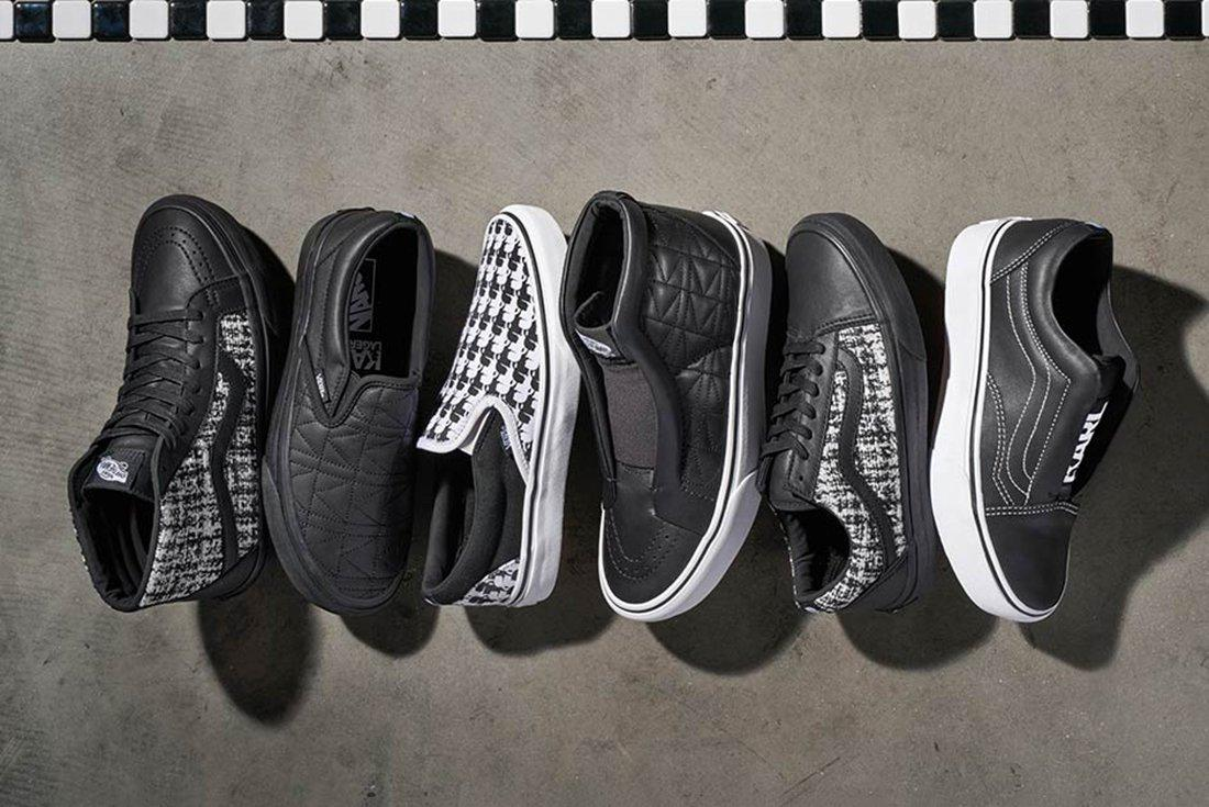 Karl Lagerfield X Vans Collection 11