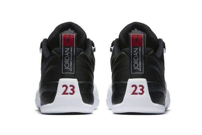 Air Jordan 12 Low Playoffs3