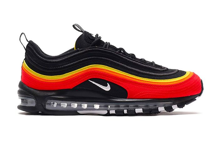 Nike Air Max 97 Chile Red Magma Orange Ct4525 001 Lateral Side Shot
