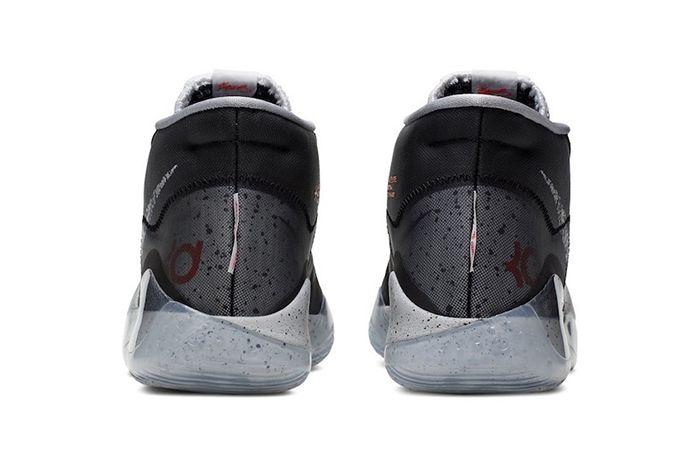 Nike Kd 12 Black Cement Release Date Heel