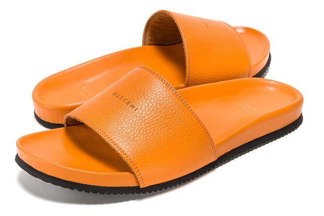 Buscemi Calfskin Leather Slides 3