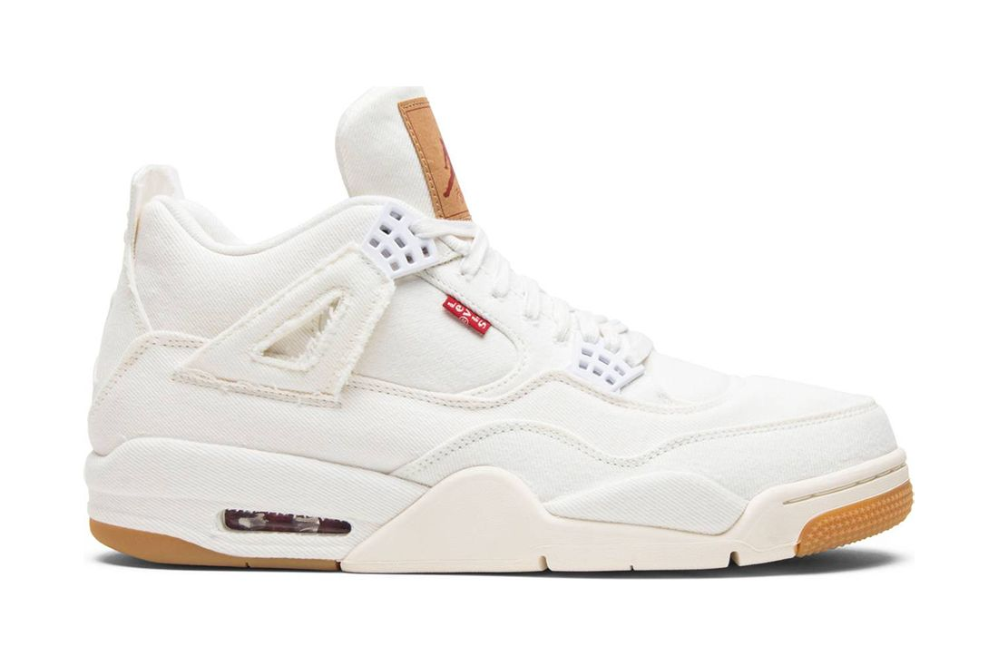 Levis White Air Jordan 4 Best Greatest Ever All Time Feature