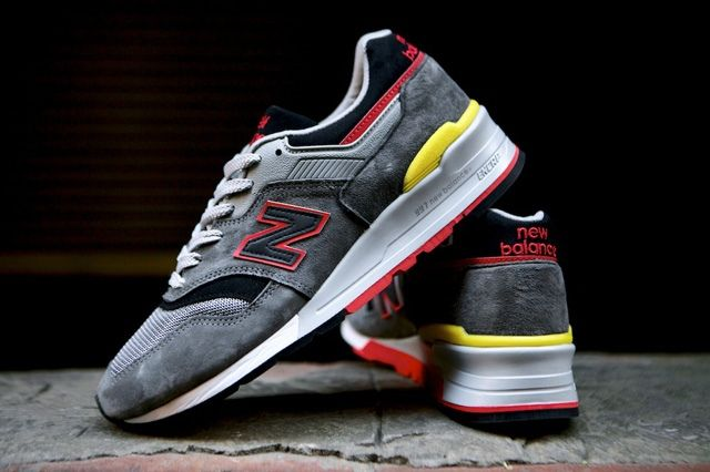 New Balance 997 Made Usa Dark Grey 3
