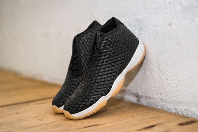 Air Jordan Future Premium Black Gum Bump 1