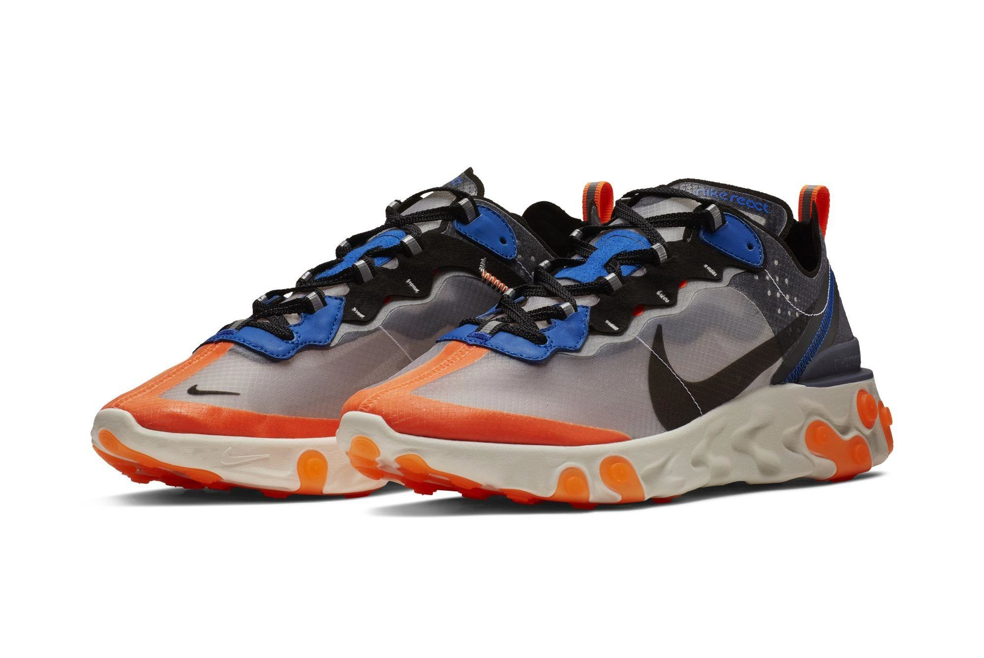 Nike React Element 87 Orange 1