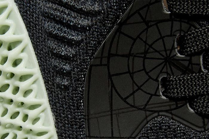 Star Wars X Adidas Alphaedge Death Star Detail Shot