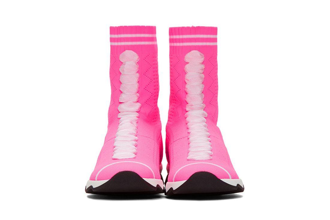 Fendi Pink Sock Sneaker Freaker 3