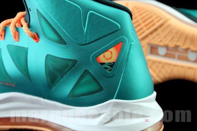 Nike Lebron X Miami 1
