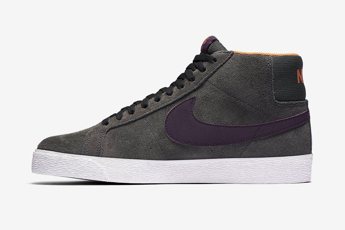 Nike Sb Zoom Blazer Premium Anthracite Purple Dynasty3