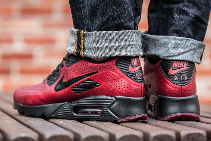 Nike Airmax Moire 1 Red Black 3