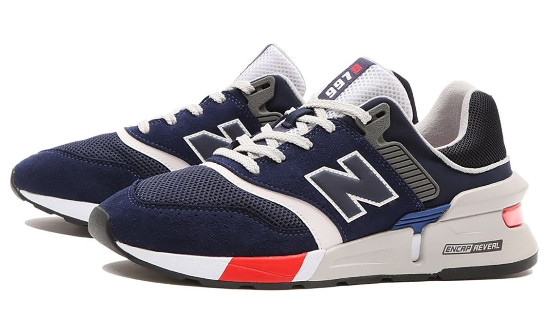New Balance 997S Navy, Grey, Red