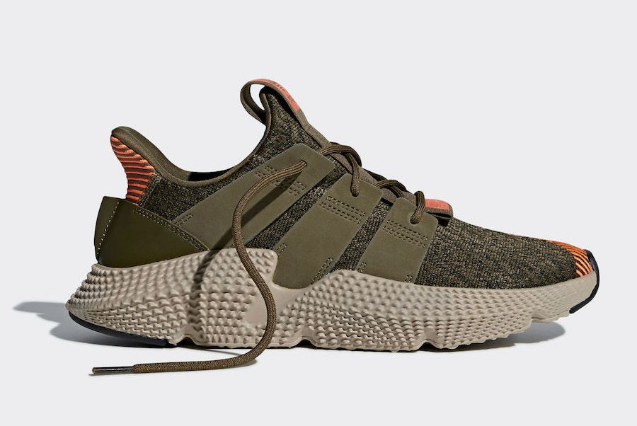 Adidas Prophere Trace Olive Solar Red Cq2127