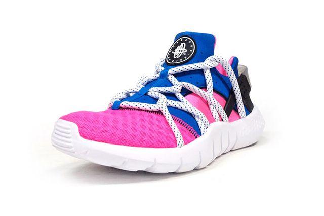 Nike Air Huarache Nm Royal Blue Pink Flash 2