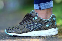 Asics Gel Saga Teal Leopard Thumb