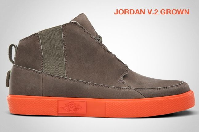 Jordan V 2 Grown Team Orange 1