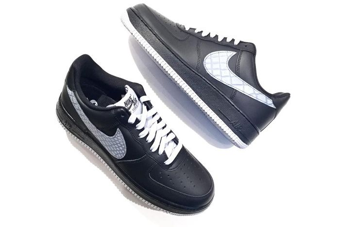 Nike Air Force 1 Low 07 Lv8 Black Sail Release Snealer Freaker