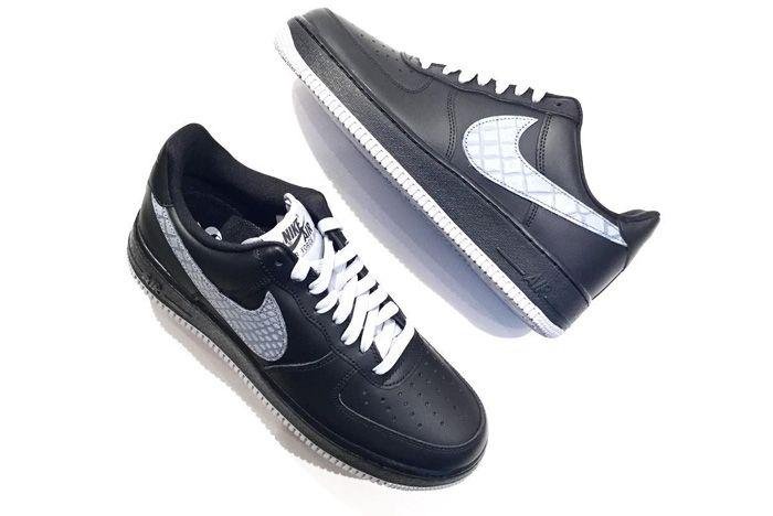 Nike Air Force 1 Low 07 Lv8 Black Sail Release Snealer Freaker
