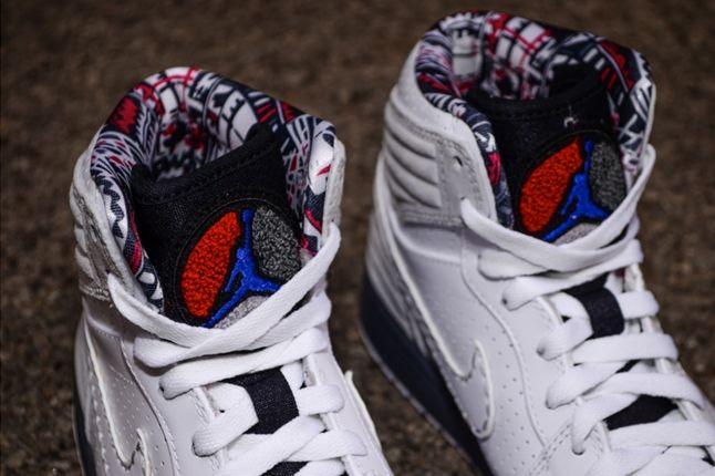 Air Jordan 1 93 Bugs Bunny Tongue Detail 1