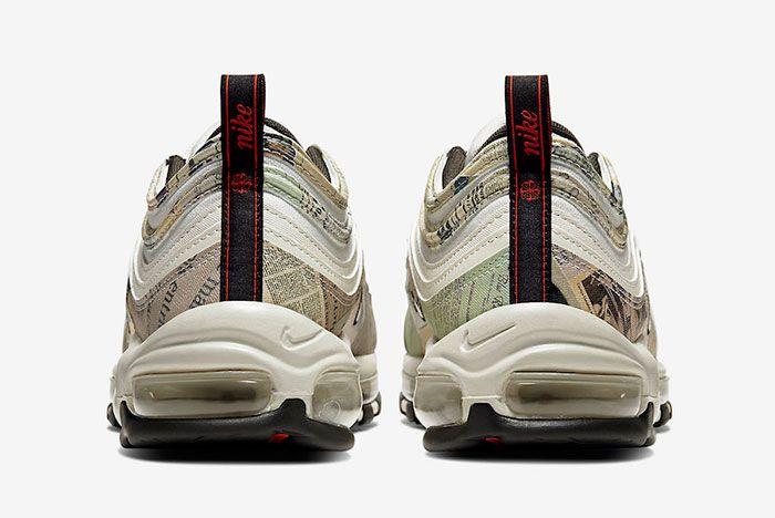 Nike Air Max 97 Newspaper 921826 108 Heel