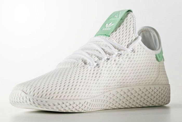 Adidas Pharrell Williams Tennis Hu Pastel Green 5