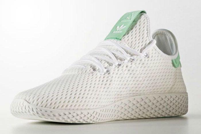 Adidas Pharrell Williams Tennis Hu Pastel Green 5