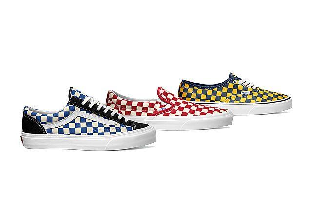 Vans Classics Golden Coast Collection For Fall 2014