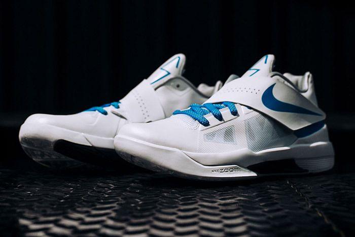 Nike Kd 4 White Blue Art Of A Champion 2