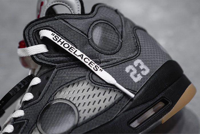 Off White Air Jordan 5 Left
