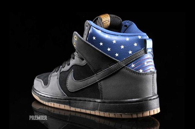 Nike Sb Dunk Hi Premium Stars 1