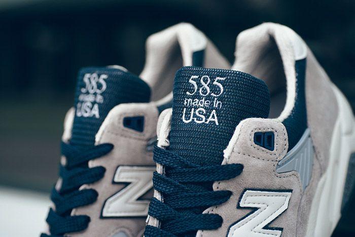 New Balance Made In Usa 585 Og Grey Navy Pack 18