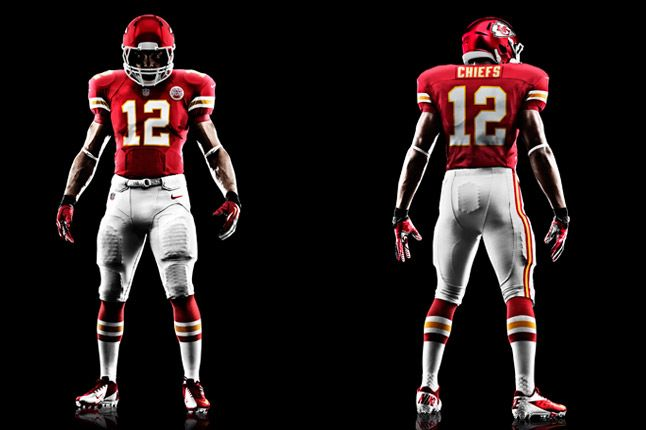 Kansas City Chiefs Uniform 1