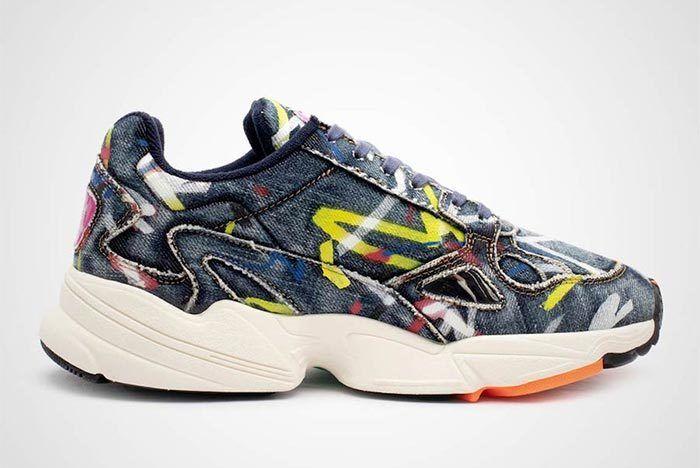 Adidas Falcon Denim Side Shot 4