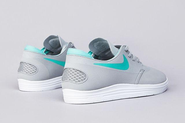 Nike Sb Lunar Oneshot Base Grey Crystal Mint 2