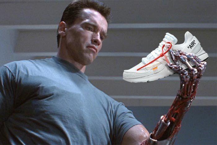 Terminator Off White Presto Nike