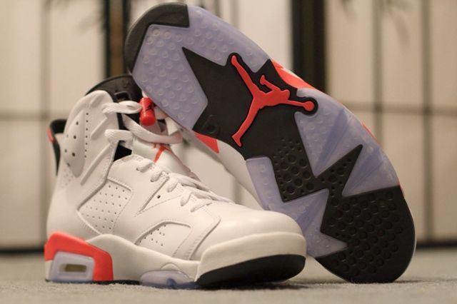 Air Jordan 6 White Infrared 2