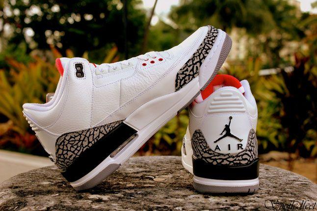 Air Jordan 3 White Cement 1