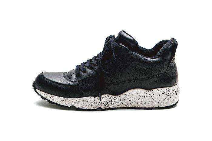 Iniform Experiment Amb Mid Sneaker Black 1