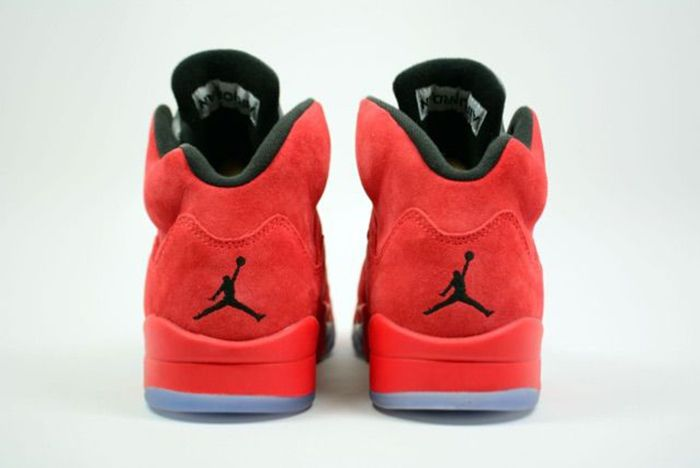 Air Jordan 5 Red Suede4