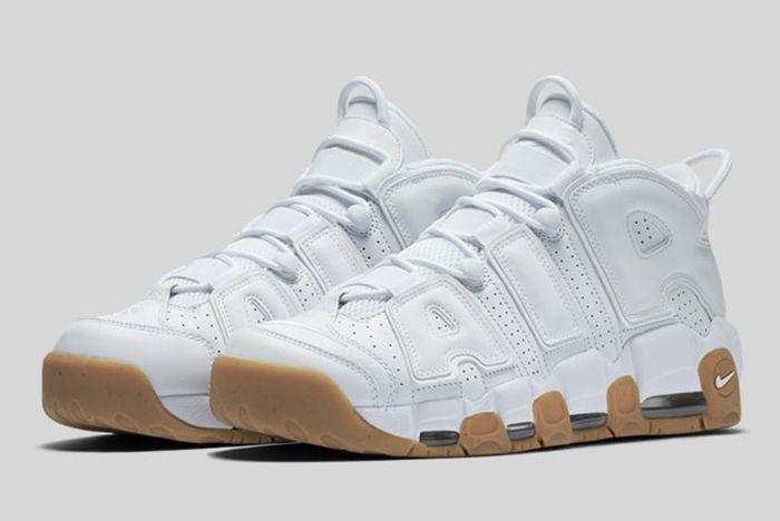 Nike Air More Uptempo White Gum22