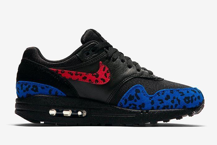 Nike Air Max 1 Premium Black Leopard Medial