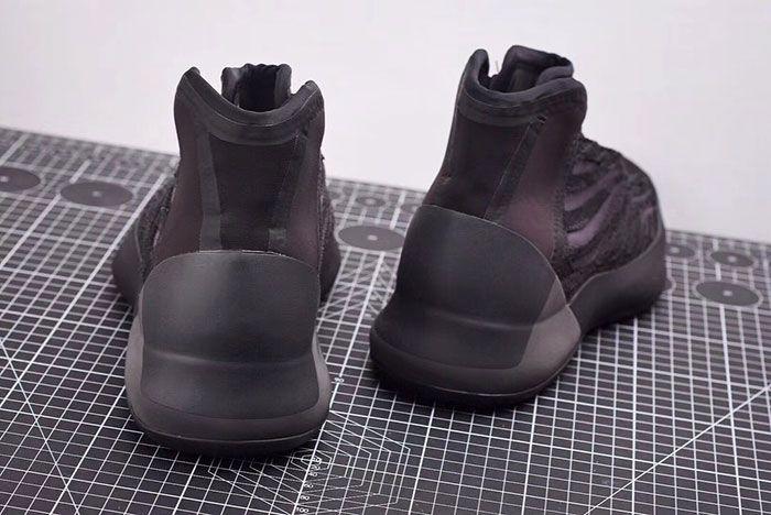 Adidas Yeezy Basketball Black Eg1536 Release Date 2 Heel