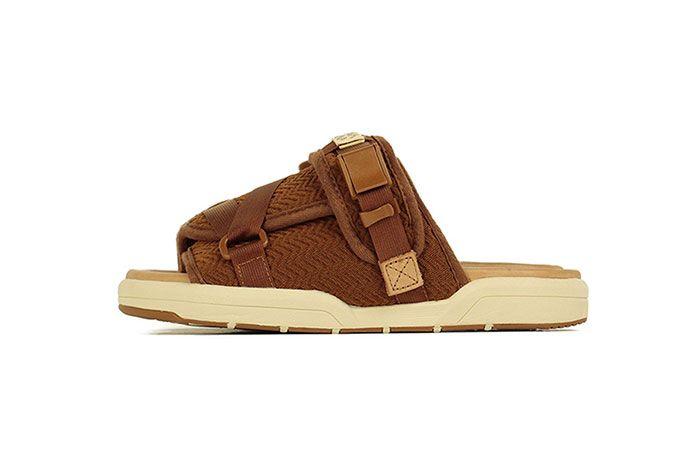 Visvim Christo Sandal Light Brown Lateral