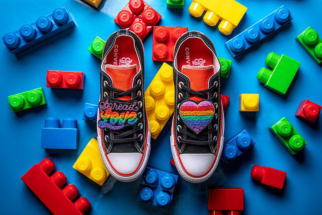 Converse X Millie Bobby Brown Collection Sneaker Freaker Pink Chuck 70 All Star Low3