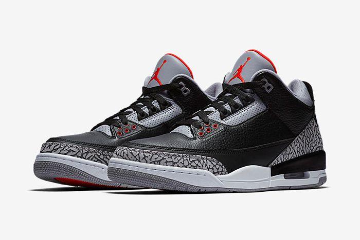 Air Jordan 3 Black Cement 4