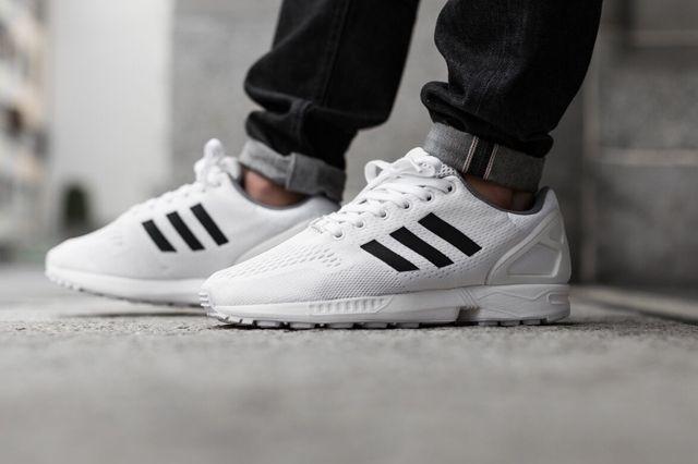 Adidas Zx Flux Superstar White 1